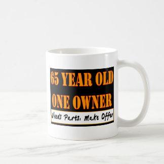 65 Year Old, One Owner - Needs Parts, Make Offer Basic White Mug
