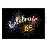 65th Anniversary Celebration Greeting Card