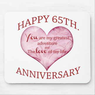 65th. Anniversary Mouse Mat