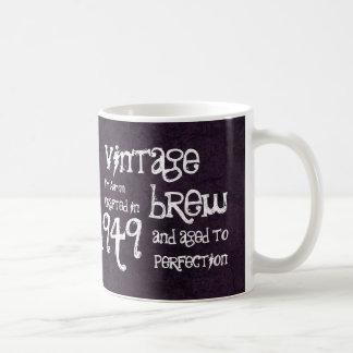 65th Birthday 1949 Vintage Brew or Any Year V65A Coffee Mug