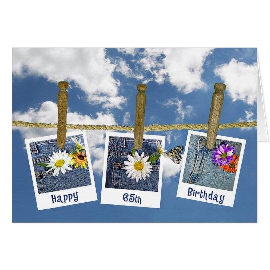 65th Birthday Daisies Card
