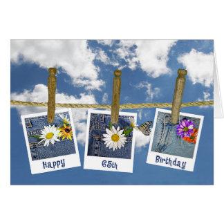 65th Birthday Daisies Greeting Card