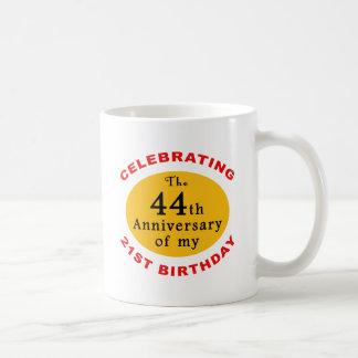 65th Birthday Gag Gifts Basic White Mug