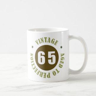 65th Birthday Gift Ideas Basic White Mug