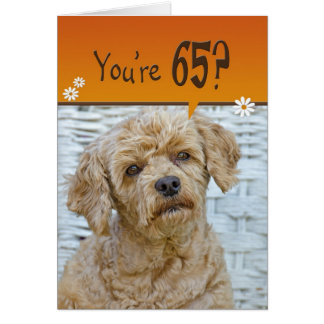 65th Birthday Greeting Card