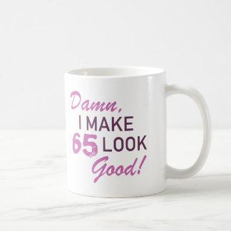 65th Birthday Humor Coffee Mug