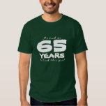 65th Birthday shirt | Customisable year number