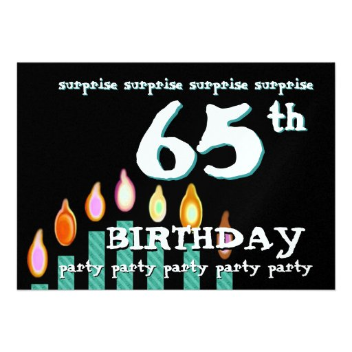 Surprise Bday Invitation was luxury invitation layout