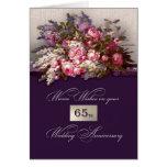 65th Wedding Anniversary Greeting Cards