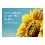 65th Wedding Anniversary / Or Any Year Card