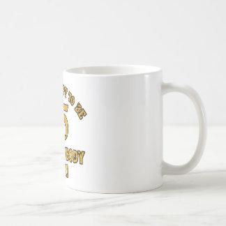 65th year old gifts basic white mug
