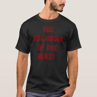 665 NEIGHBOUR OF THE BEAST DESIGN #2 T-Shirt