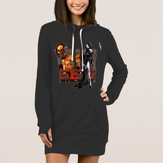 666 Ladies Hoodie Dress