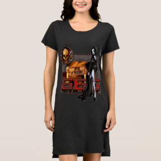 666 Ladies T-shirt Dress