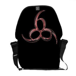 666 Messenger  Bag Commuter Bag