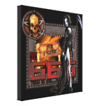 666 - Wrapped Canvas Canvas Print