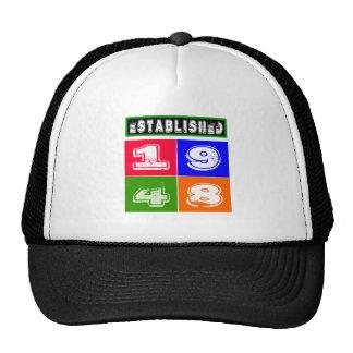 66 Birthday Designs Mesh Hats