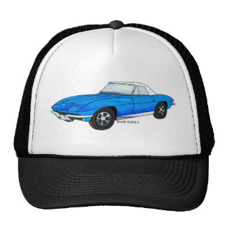66 Corvette Sting Ray Hats