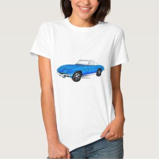 66 Corvette Sting Ray Tee Shirts
