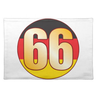 66 GERMANY Gold Placemat