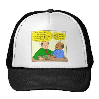 676 sleep with wife before I was married cartoon Trucker Hat