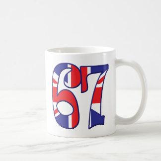 67 Age UK Basic White Mug