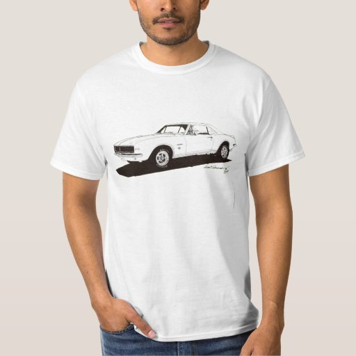 '67 Camaro RS (back) &  (front) Shirts