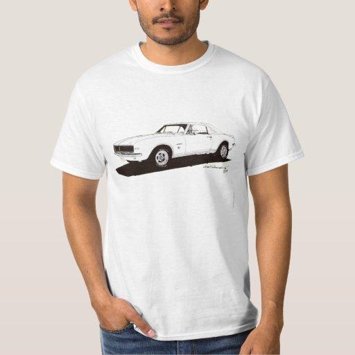 '67 Camaro RS (back) &  (front) T-Shirt