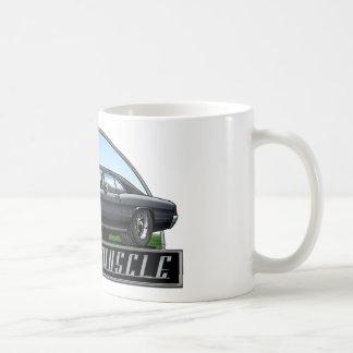 67_Chevelle_Black Coffee Mugs