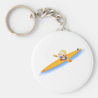 67_girl_lightning basic round button key ring