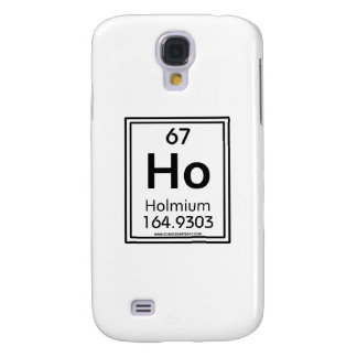 67 Holmium Galaxy S4 Cases