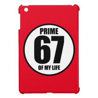 67 - prime of my life iPad mini cover