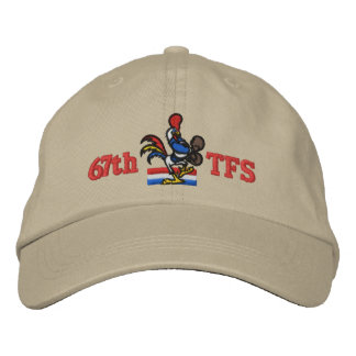 67TFS Golf Hat Embroidered Hats