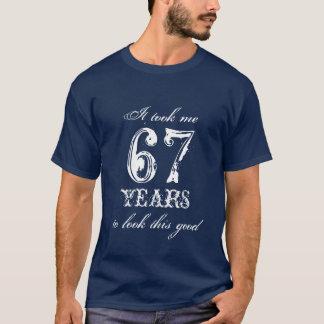67th Birthday shirt | Customizable year number