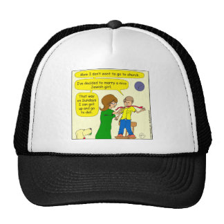 682 marry a jewish girl cartoon cap
