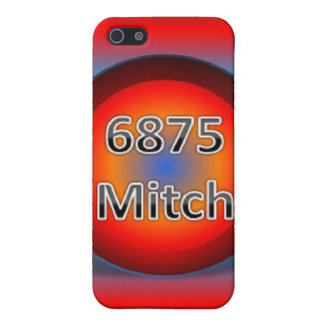 6875Mitch Logo Hard Shell iPhone 4 4s Case