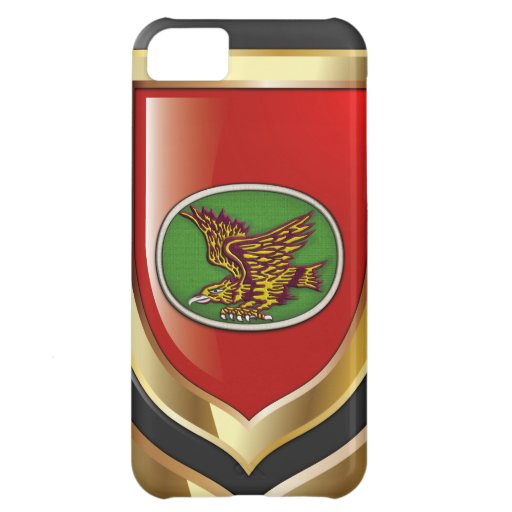 [68] 1st SF BDE Patch Cover For iPhone 5C