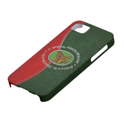 [68] 1st SF BDE Patch Special Edition iPhone 5 Case