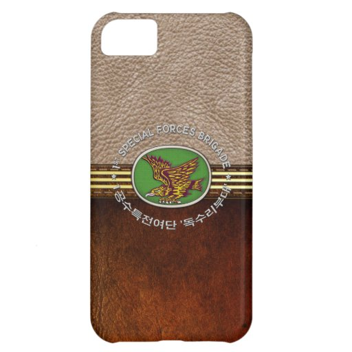 [68] 1st SF BDE Patch Special Edition iPhone 5C Cover