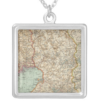 68 Finland Square Pendant Necklace
