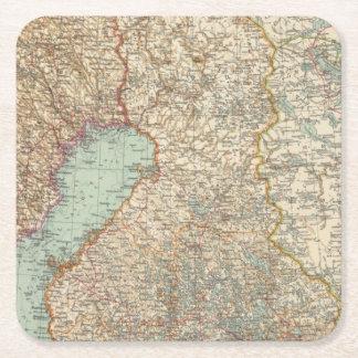 68 Finland Square Paper Coaster