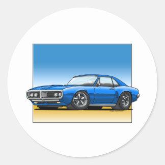 68_Firebird_BLUE Sticker