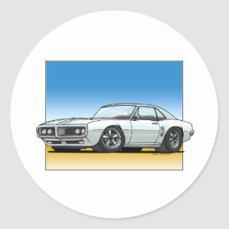 68_Firebird_WHITE Stickers