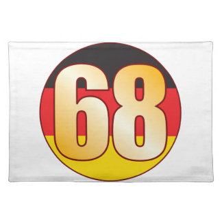 68 GERMANY Gold Placemat