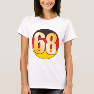 68 GERMANY Gold T-Shirt