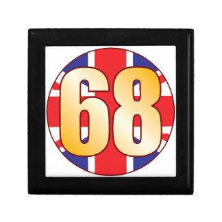68 UK Gold Gift Box