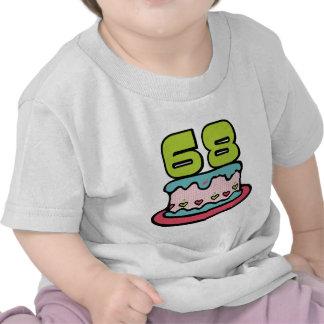 68 Year Old Birthday Cake T Shirt