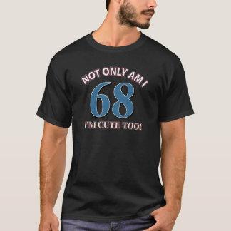 68 years Old birthday designs T-Shirt
