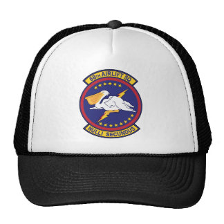 68th Airlift Squadron Mesh Hats