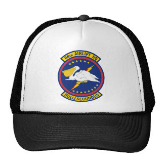 68th Airlift Squadron - Nulli Secundus Hats